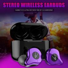 Sabbat E12 Ultra QCC3020 TWS Bluetooth 5.0 Earphone Stereo Wireless Earbuds  in ear noise reduction Wireless charging