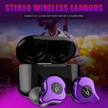 سماعات أذن ستيريو من Sabbat E12 Ultra QCC3020 TWS مزودة بتقنية البلوتوث 5.0 سماعات لاسلكية داخل الأذن للحد من الضوضاء الشحن اللاسلكيإكسسوارات وقطع غيار أدوات كهربائية