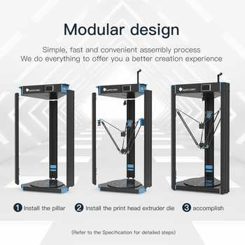 ANYCUBIC Predator 3D Printer Pre-assembled Ultrabase 3D Printer Kit Impresora 3d Profesional 370*370*455mm imprimante 3d