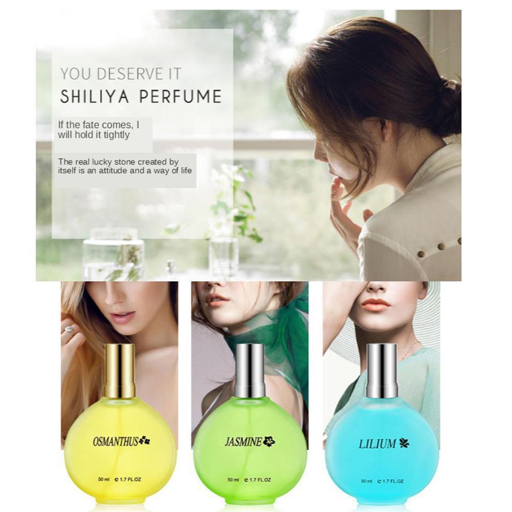 Pure Plant Fresh Perfume Lady Lasting Light Fragrance Perfume Sweet-scented Osmanthus Personality Lavender Rose Lily G8Y2