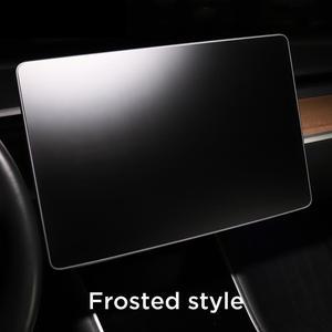 "Image 5 - עבור טסלה דגם 3 15 ""מרכז בקרת מסך מגע לרכב ניווט מגע מסך מגן, p50 P65 P80 P80D 9 שעתי מזג זכוכית"