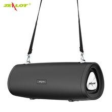 Zélot S38 Hifi Portable haut-parleur Bluetooth Subwoofer Boombox haut-parleur sans fil + bandoulière Support TWS, TF, clé USB