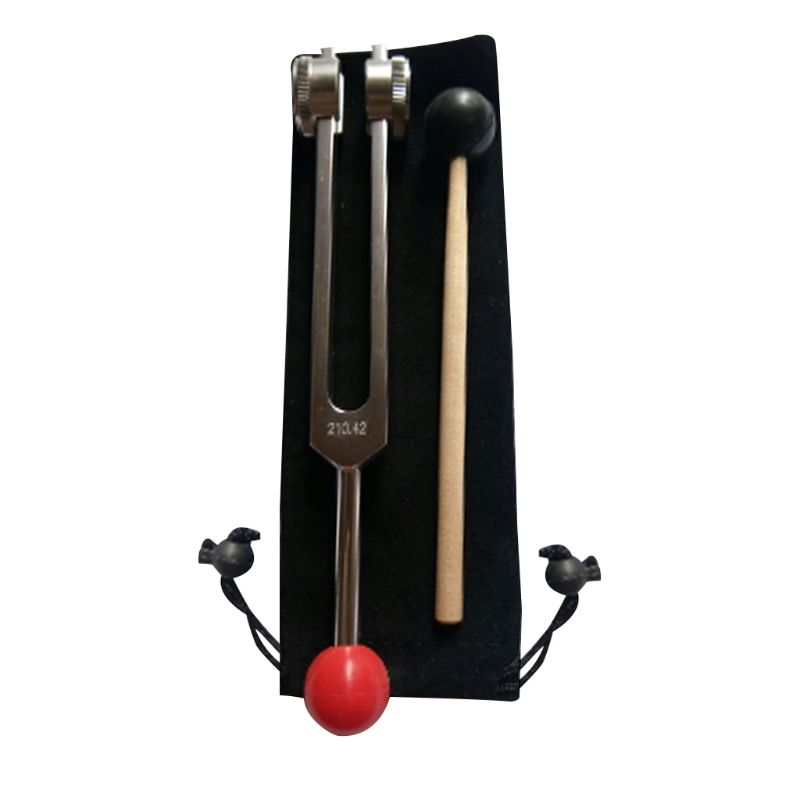Tuning Fork 210.42 - With Buddha Bead Base For Ultimate Healing And Relaxation