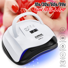 Manicure lamp manicure 80W manicure lamp manicure tool automatic induction LED light therapy lamp manicure dryer manicure