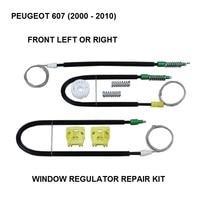 Kit de janela de carro elétrico para peugeot 607 kit de reparação de regulador de janela frente-direita 2000-2010