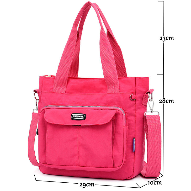 women 39 s bag High capacity nylon cloth Tote luxury handbags women bags designer bags for women 2019 Shoulder Bags Ms Shopping Bag in Top Handle Bags from Luggage amp Bags