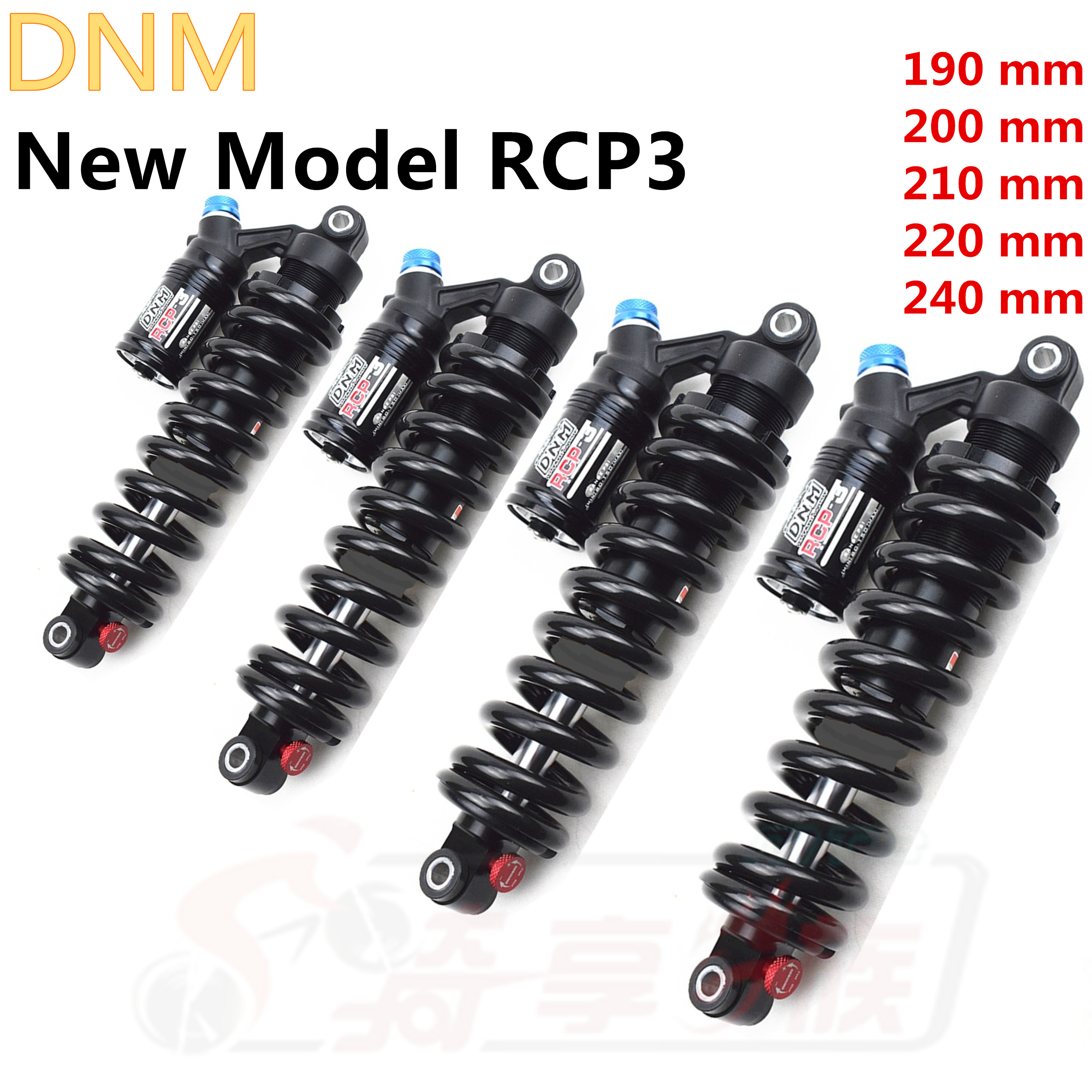 DNM RCP3 RCP2S Rear Shock Absorber Durable Adjustable Suspension Shocks Spring Downhill MTB Bicycle Mountain Bike