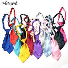Baby's tie double layer neck kids boys girls accessories