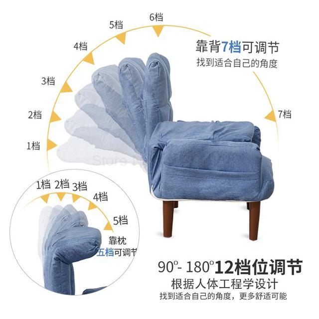 Evening Power Lounge Chair w/ Ottoman 2