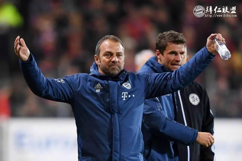 官宣:临时教练弗里克转正成为拜仁正式主教练5