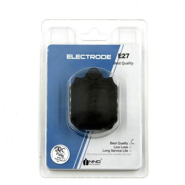 Nuovo packaging INNO E27 In Fibra Ottica Elettrodi di Ricambio per INNO IFS 10 View3/5/7 In Fibra di Giuntura di Fusione elettrodo asta shipp Libero