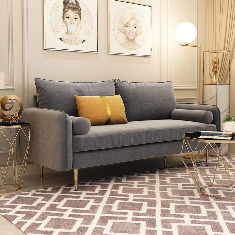 Velvet Fabric Sofa Living Room Furniture Living Room Sofa Set Fabric Sofa Blue Pink Brow Gray Sofa Living Room Sofas Aliexpress