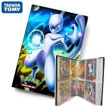 Album de cartes Pokemon TAKARA TOMY, 240 pièces, carte de jeu dessin animé, porte-cartes VMAX, Collection, dossier, jouet pour enfants, cadeau Cool