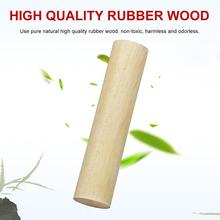 New High-quality Rubber Wood Round Sand Tube Orff Percussion Instrument Early Childhood Educational Musical Instrument цены