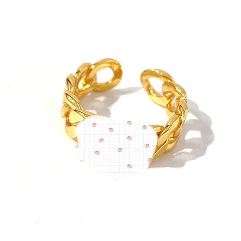 Кольца с буквами CD для мужчин и женщин, регулируемые кольца в стиле ретро, аксессуары для вечерние Ринок, 2021