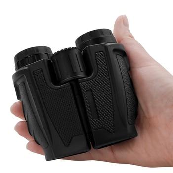 12x25 Compact Binoculars with Low Light Night Vision High Power Waterproof Binocular Professional Portable Binoculars Telescope 3