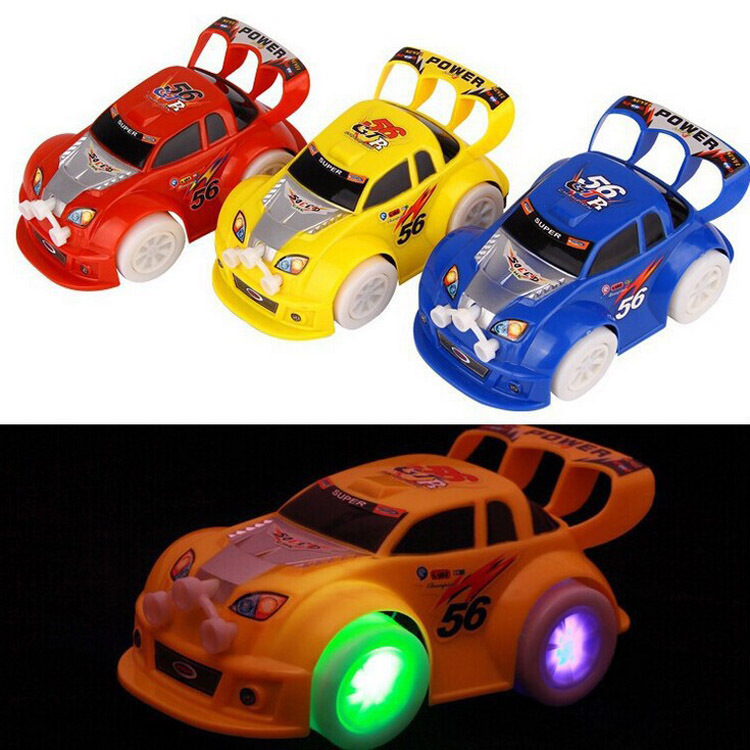Electric Universal Car Speed Stunning Universal Toy Car 3D Light Shining Children Music Stall Hot Selling Toy