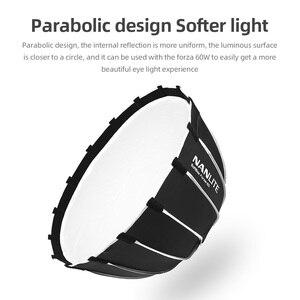Image 3 - NANLITE Portable 60CM Quickly Fast Installation Deep Parabolic Softboxfor Forza 60 Softbox (EC FZ60)