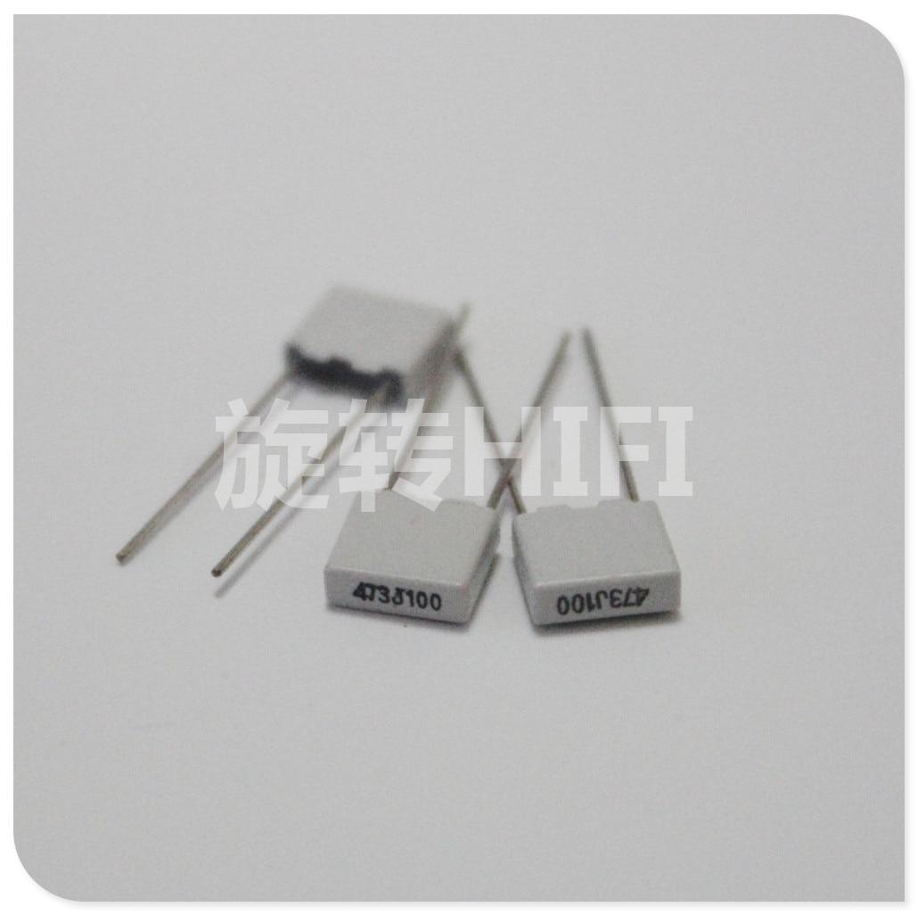 20PCS NEW EVOX MMK5 473 0.047UF 100V P5mm Film Capacitor MMK 473/100V Audio 47NF Hot Sale 47nf/100v 473J100