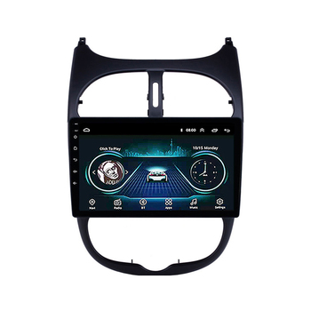 2 din Car Radio Android 8.1 Car Multimedia Player For Peugeot 206 2001 -2008 GPS Navigation WIFI Bluetooth FM carrvas 2 din car multimedia player android 8 1 built in rds 7 inch hd touch screen gps navigation wifi bluetooth am fm iso