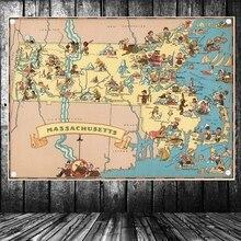 mapa colgar RETRO VINTAGE