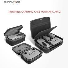 Sunnylife 휴대용 Mavic Air 2 휴대용 케이스 숄더 백 Drone Bag Mavic Air 2 용 리모컨 보관 가방