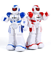 Remote Control Intelligent Robot RC Smart X-Man Early Education Robot with Singing Dancing Gesture Control Toys for Children(China)