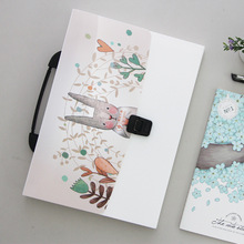 13 Cute Pockets Expanding File Folders Document Pouch Bill Folder A4 Paper Size Document Holder Portable Organizer Office Supply