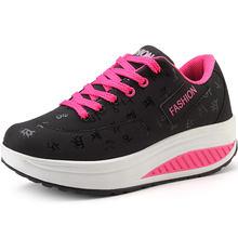 Женские кроссовки на платформе кожаная спортивная обувь женские