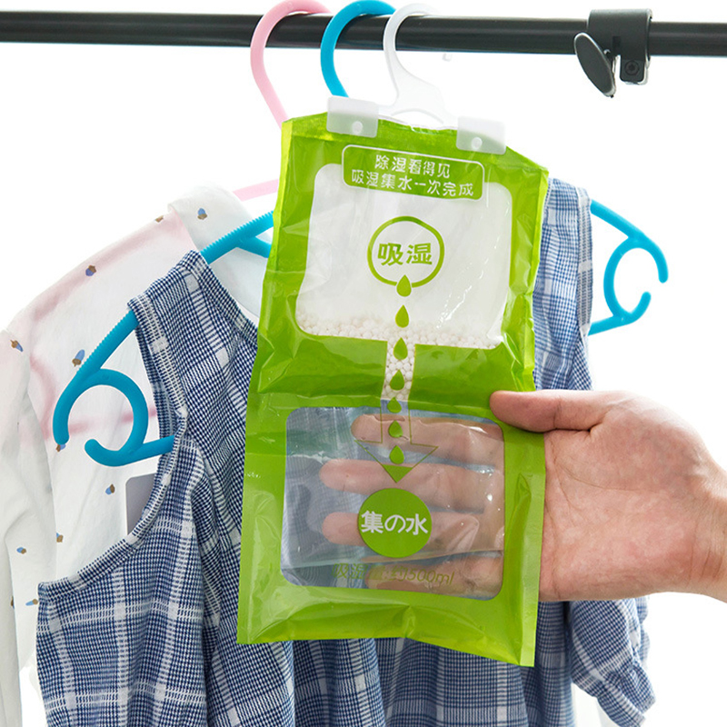Wardrobe Moisture-proof Dehumidification Bag Hanging Drying Agent Water Absorption Moisture Absorbers For Family Use