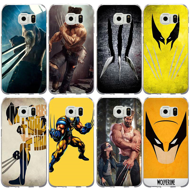 Wolverine Comics Xmen Hero Soft Phone Cases TPU for Samsung Galaxy S2 S3 S4 S5 Mini S6 S7 S8 S9 S10 Edge Plus Lite Note 8 9 image