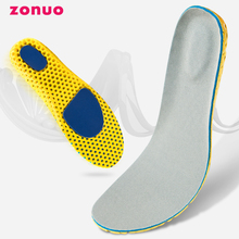 Sports Insoles Breathable Sweat-absorbing Stink-proof Mat Ortholite EVA Foam for Men and Women Insoles