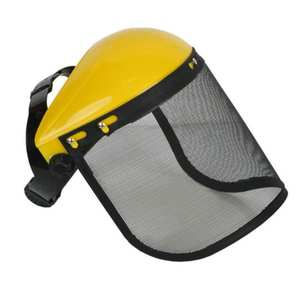Hat Helmet Mower-Protective-Cap Face-Shield Logging Brushcutter Mesh Safety Full-Face