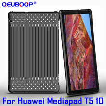 Tablet Case for Huawei Mediapad T5 10 AGS2-W09 AGS2-L09 AGS2-L03 AGS2-W19 TPU Back cover For Mediapad T5 10 inch slim cover case mingfeng pu leather cover case for huawei t5 10 protective smart case for ags2 w09 l03 w19 10 1inch tablet pc case covers