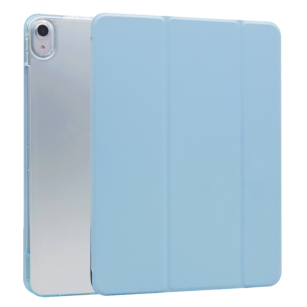 Sky Blue Sky Blue For iPad Air 4 10 9 Inch Flip Stand Case Protective Cover Auto Wake Up Sleep