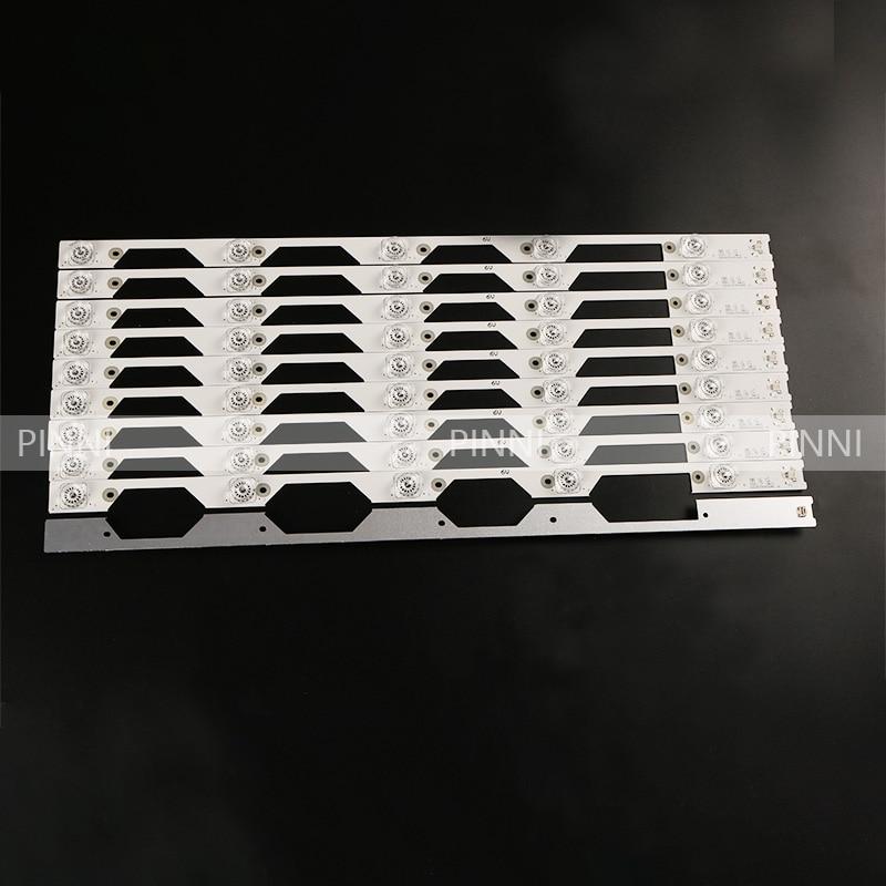 10piece/lot 520mm  For   D55A930C  TCL L55P1S-CF Lamp Bar 55HR330M05A5V1  4C-LB5505-HR01J