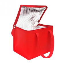 Food Picnic Foldable Lunch Box Delivery Aluminum Foil Waterproof Large Capacity Cake Insulated Bag Thermal Portable Cooler #734
