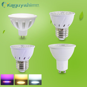 =(K)= E27 Gu10 Mr16 LED Spotlight Grow Light LED Spot Lamp Bulb DC 12V AC 220V Growth 3W 4W Lampada Lampara Full Spectrum