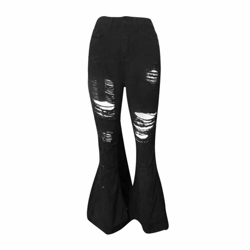 Damskie dziurki zniszczone porwane Spodenki jeansowe o wysokiej talii Spodenki Hotpants Micro Rave Mini czarne krótkie Spodenki Krotkie Spodenki Hot