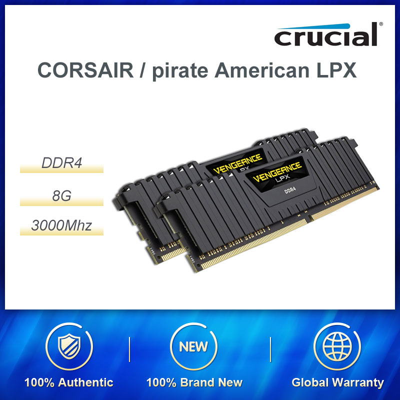 CORSAIR / pirate ship American Avenger LPX DDR4 8G 3000MHZ desktop RAMs|RAMs|Computer & Office - title=
