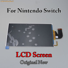 ChengHaoRan 1pc Original New Replacement LCD Screen with Flex Cable for Nintendo Switch 2017 2018