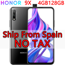 Spain In Stock Honor 9X 4GB 128GB Android 9.0 Mobile Phone 6