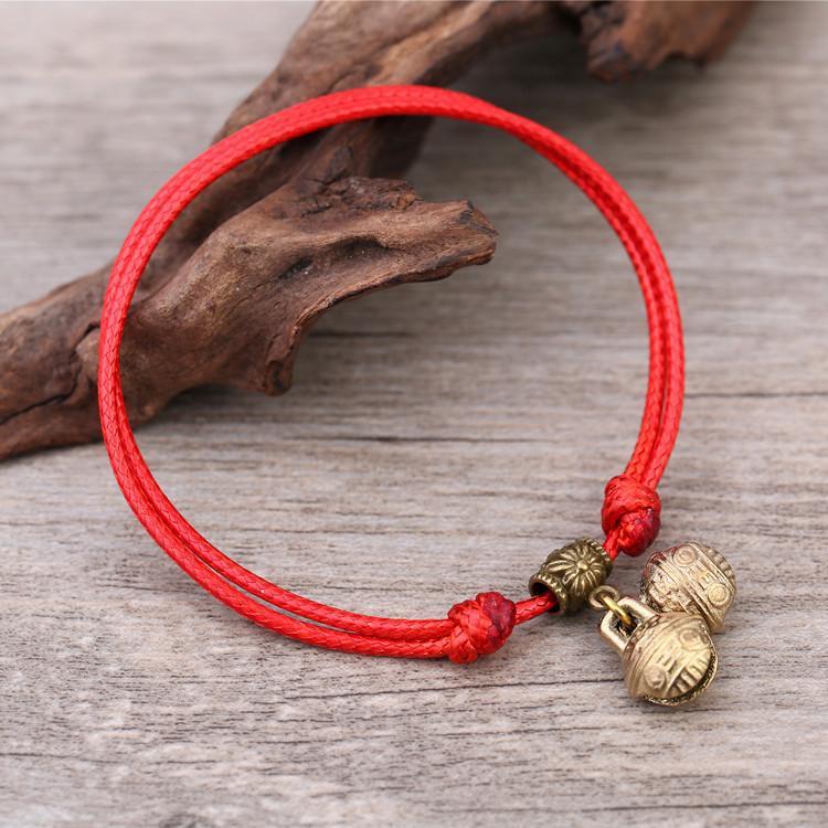 [Heart] Pet Dog Bell Necklace Teddy Pomeranian Neck Ring Bell Golden Retriever Puppy Pendant Rope Cat