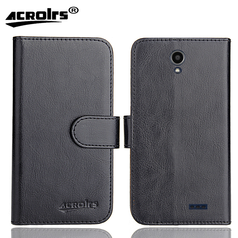 """ZTE Prestige 2 Case 5"""" 6 Colors Flip Soft Leather Crazy Horse Phone Cover Stand Function Cases Credit Card Wallet"""