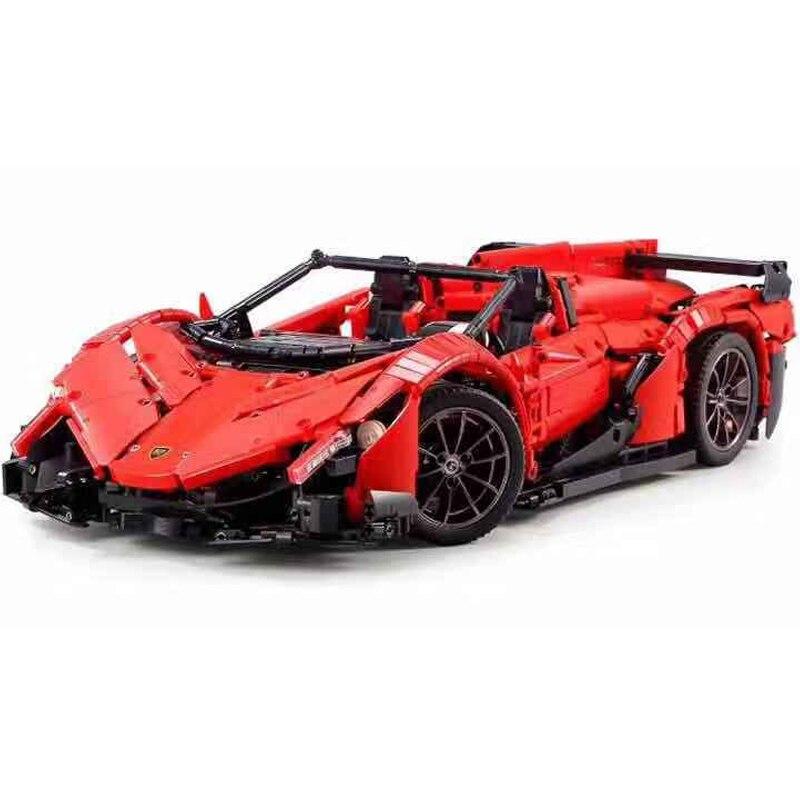 Mould King 13079 2538pcs App RC Car  Veneno Roadster - 50th Anniver Building Blocks Bricks Toys Gift for Children
