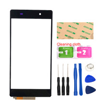 5.2''Touch Screen For Sony Xperia Z2 L50W D6503 Touchscreen Panel Screen Sensor Front Cover Glass Phone Parts Tools Adhesive