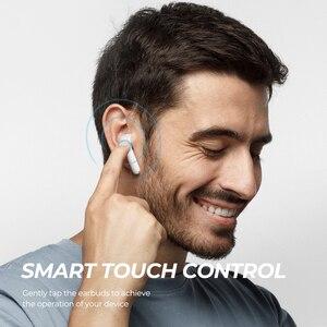 Image 5 - SoundPEATS Bluetooth écouteurs vrai sans fil contrôle tactile écouteurs 30Hrs Playtime CVC suppression de bruit affichage de la batterie