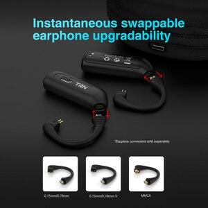 Image 4 - Беспроводные Hi Fi наушники AK TRN BT20S Pro APTX с Bluetooth 5,0, 2 контактный/MMCX QDC разъем, сменный заглушка, ушной крючок для TRN V90 V90S VX