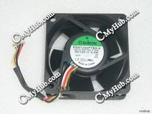 For SUNON PSD1206PTBX-A (2).U.B3762.F.GN DC12V 4.3W 6025 6CM 60mm 60x60x25mm 4pin Cooling Fan(China)