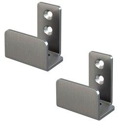 2 szt. Regulowane prowadzenie podłogowe ze stali nierdzewnej dla wszystkich drzwi rowkowanych i nierowkowanych w Mechanizmy do drzwi automatycznych od Majsterkowanie na